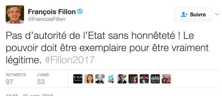 FRANCOIS FILLON PÉNÉLOPE FILLON