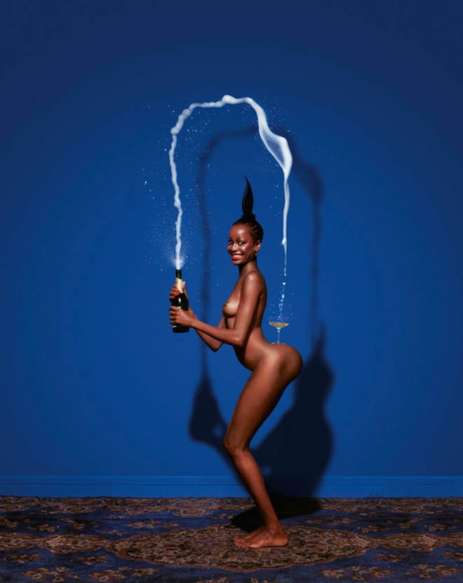 Jean-Paul-Goude-Champagne-Incident