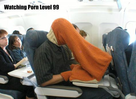 plane knitted head cosy