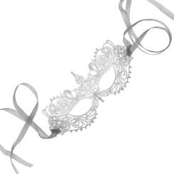 Samantha Peach Silver Mask from Fifty Shades Darker