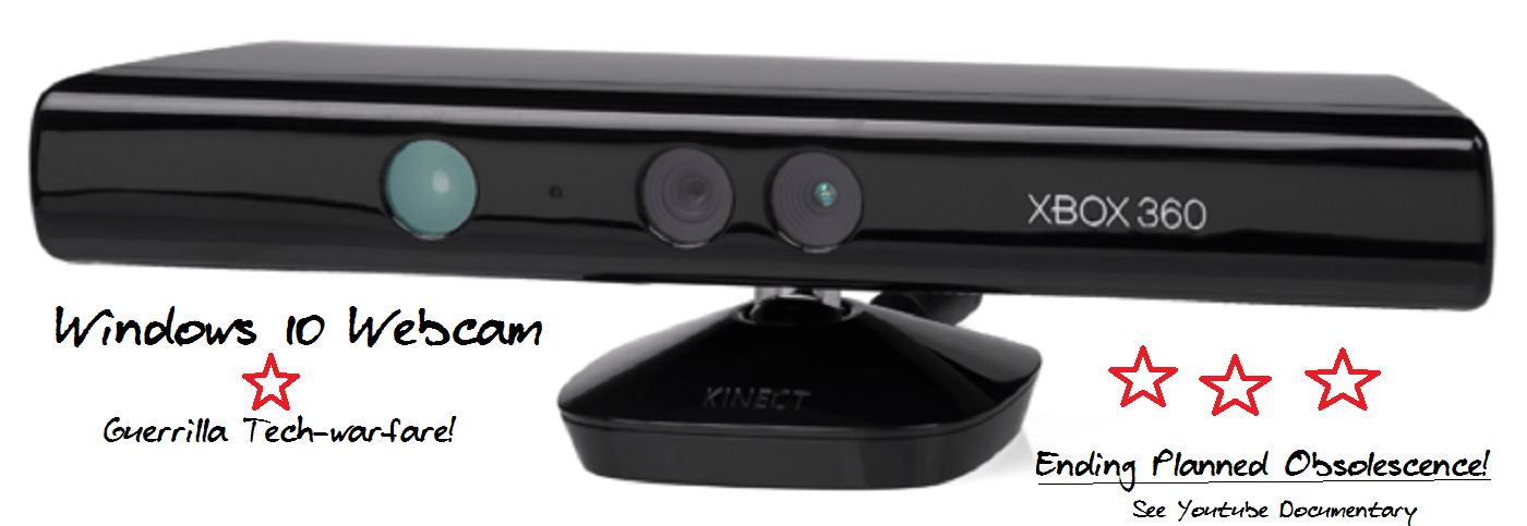 Kinect 360 Cam Used as a Webcam in Skype