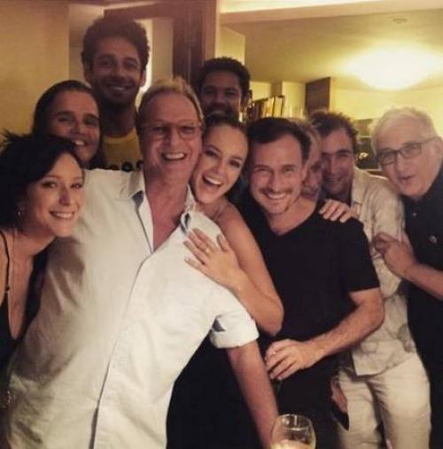 Reprodução/Instagram - Paolla Oliveira e o elenco de
