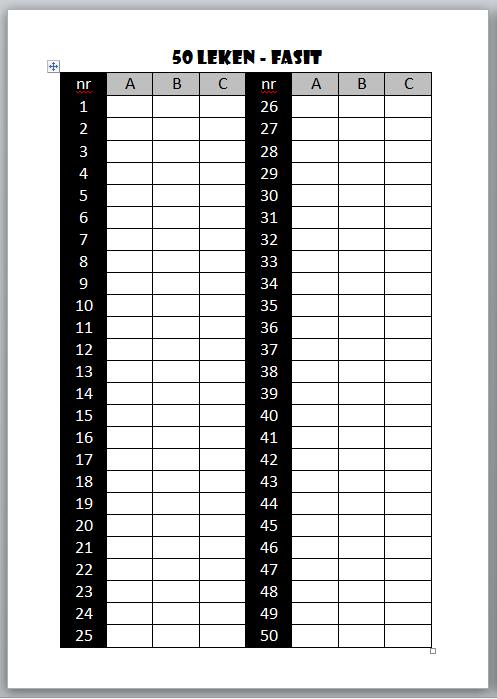 50-leken fasi