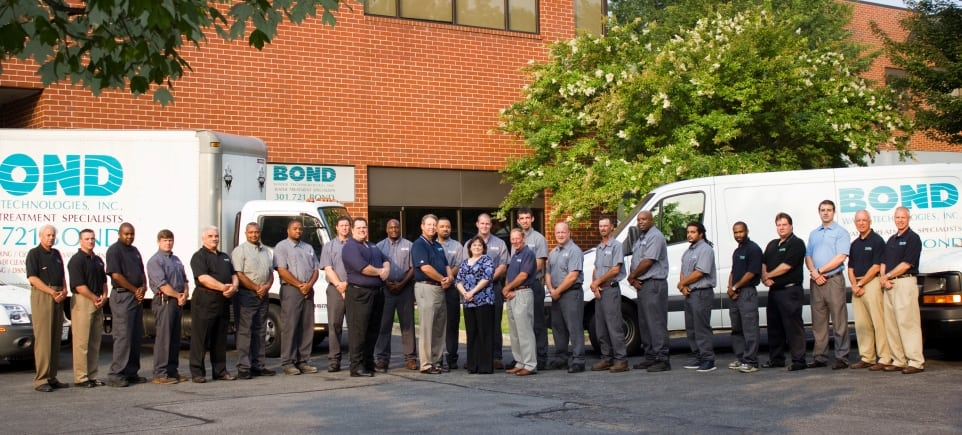 Bond Water Technologies Staff home page