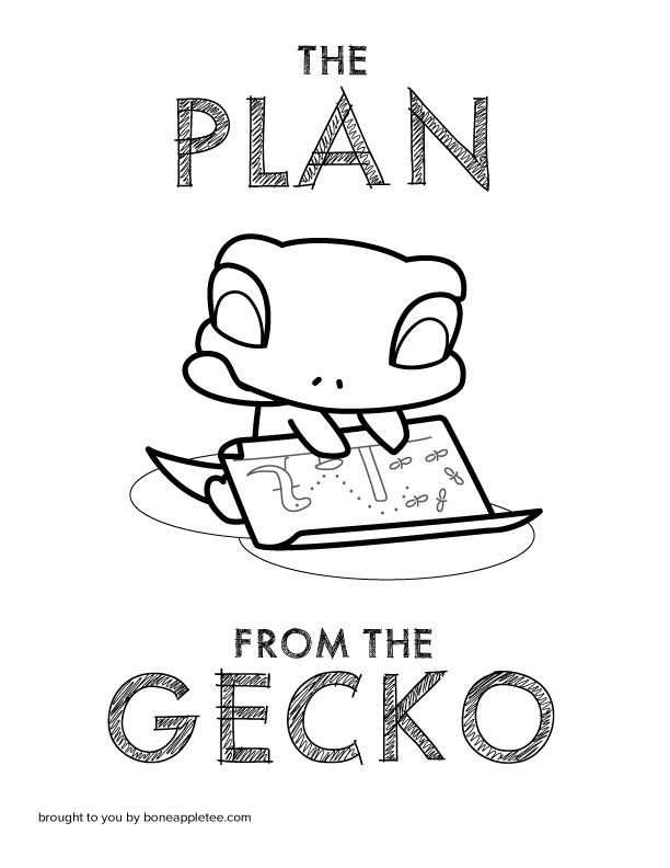 The Plan from the Gecko