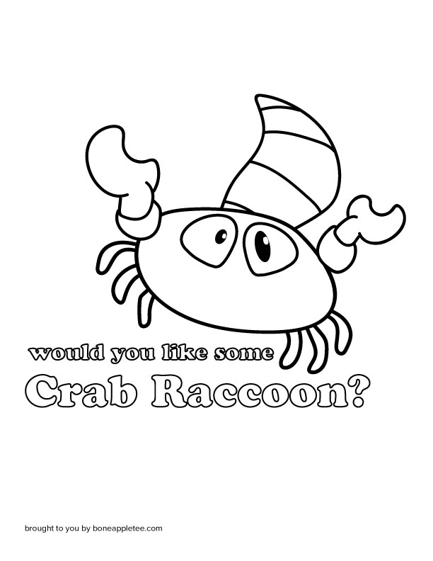 Would You Like Some Crab Raccoon