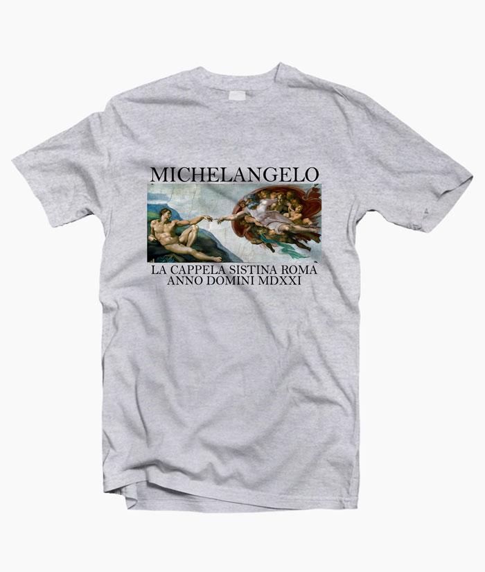 Michelangelo La Cappella Sistina Roma Anno Domini MDXXI T