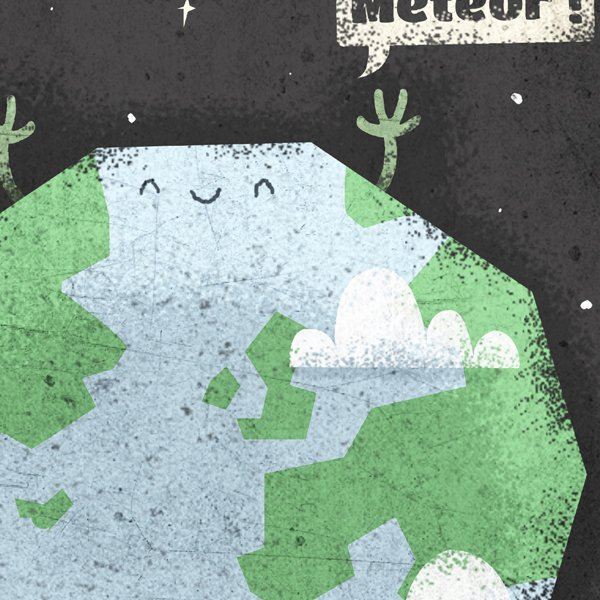 Nice to Meteor T-shirt Design