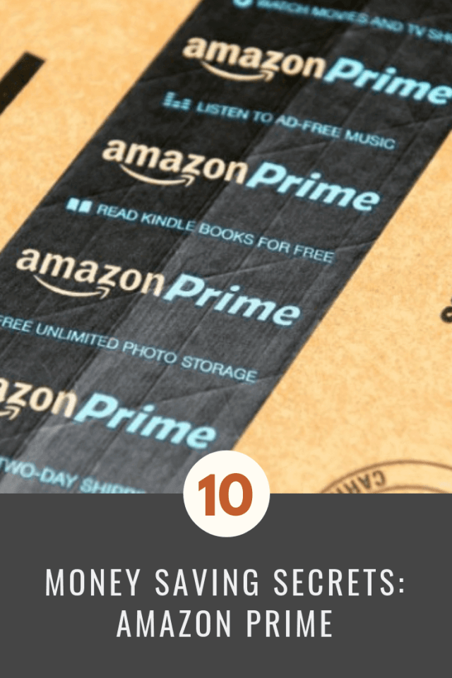 Money Savings Secrets: Amazon Prime