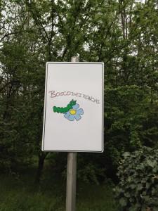 Nuovo Cartello parco Bosco Ronchi