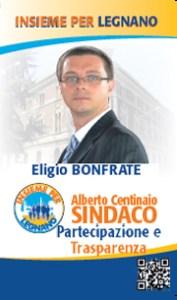 Eligio Bonfrate elezioni Legnano 2012