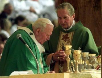 Carlo Maria Martini e Giovanni Paolo II