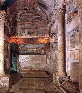 Cripta dei papi - Catacombe di san Callisto