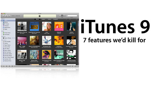 itunes 9 Featuring Home Sharing, Genius Mixes & Improved Syncing