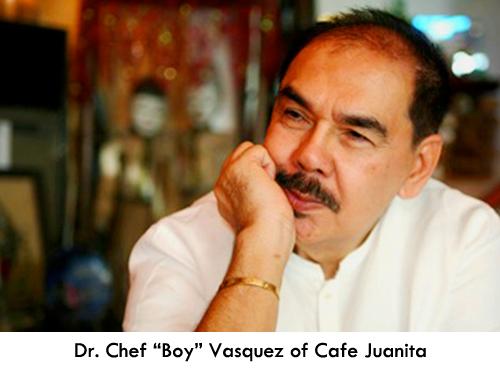 """Dr. Chef Efren """"Boy"""" Vasquez at the Maya Kitchen this December"""