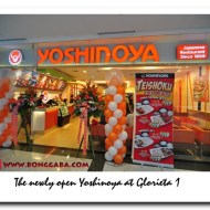 Yoshinoya (Japanese Fast Food) Opens at Glorieta 1