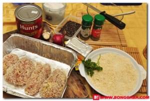 Chicken Parmigiana Ingredients b