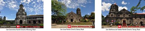 RIZAL CHURCHES