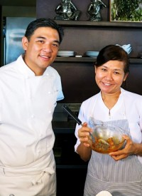 Azuthai's J Gamboa and Chef Malichat