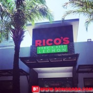 Cebu's Famous Rico's Lechon Opens at the Global City