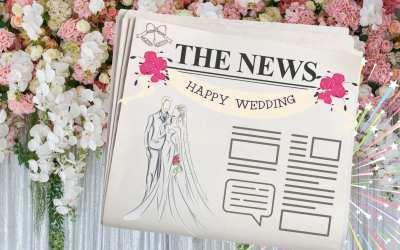 7 idées pour créer la Gazette de votre Mariage