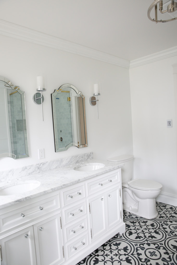 wayfair bathroom progress - bonjour bliss roxanne west