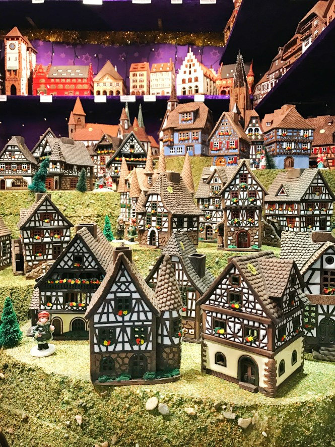 Freiburg Germany Christmas Market Souviners Ceramic Gingerbread Houses