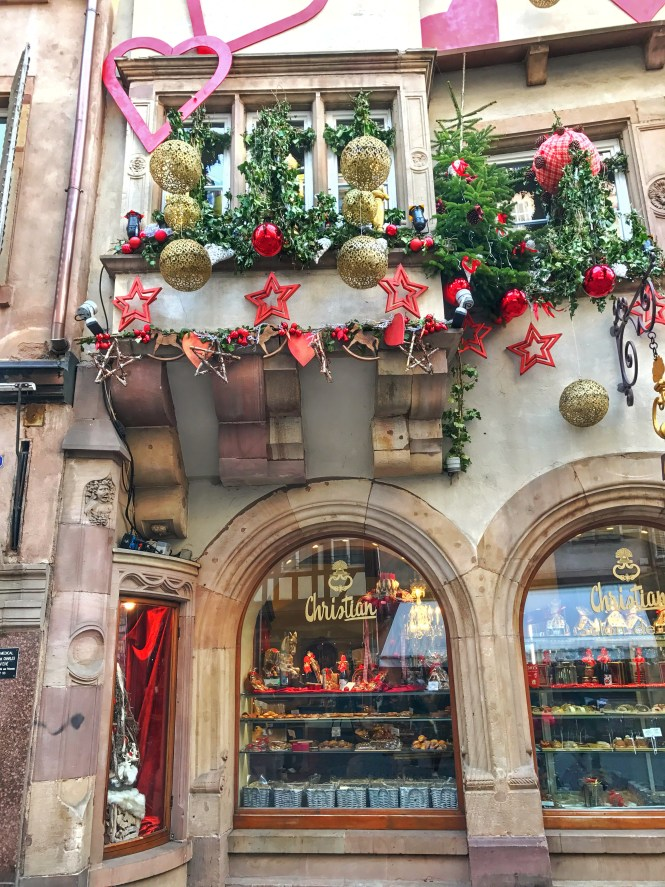 Strasbourg French Bakery Christmas Market Decorations Ornaments
