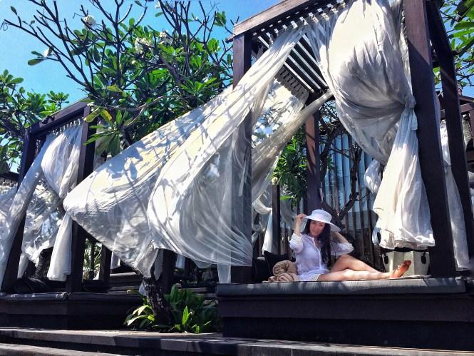 St. Regis Bali pool daybed