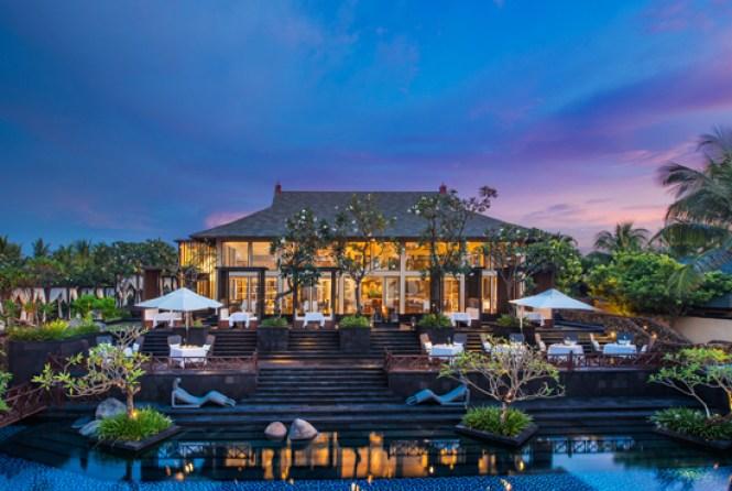 Exterior of Kayuputi Restaurant St.Regis Bali