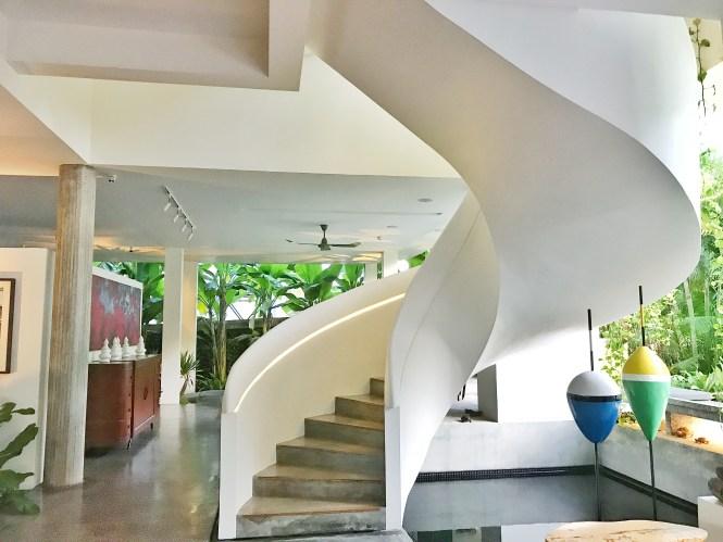 Viroth's Hotel Siem Reap Cambodia stairs