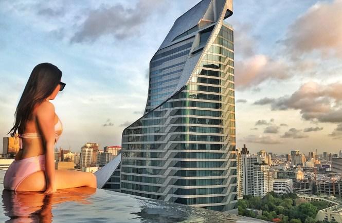 Okura Prestige Bangkok Infinity Pool