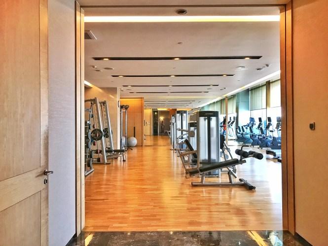 Okura Prestige Bangkok gym