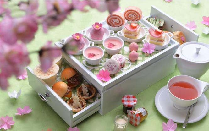 Okura Prestige Bangkok Sakura high Tea