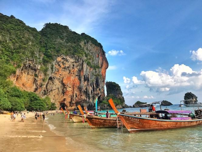 railay beach rayavadee krabi thailand