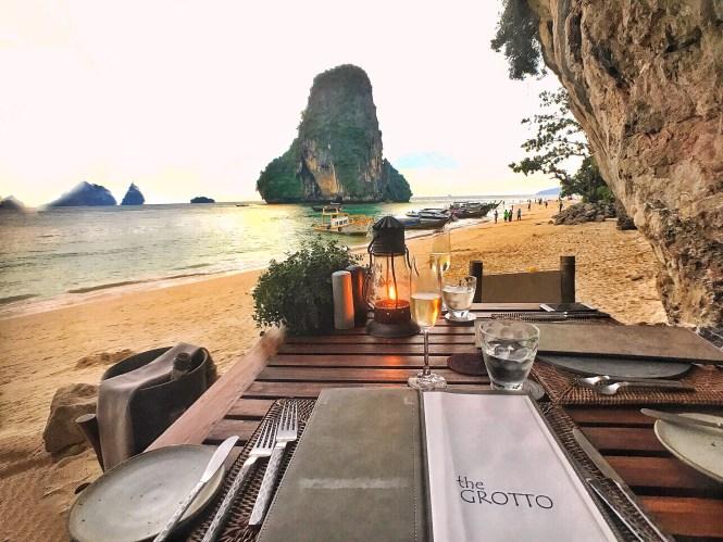 grotto rayavadee krabi thailand
