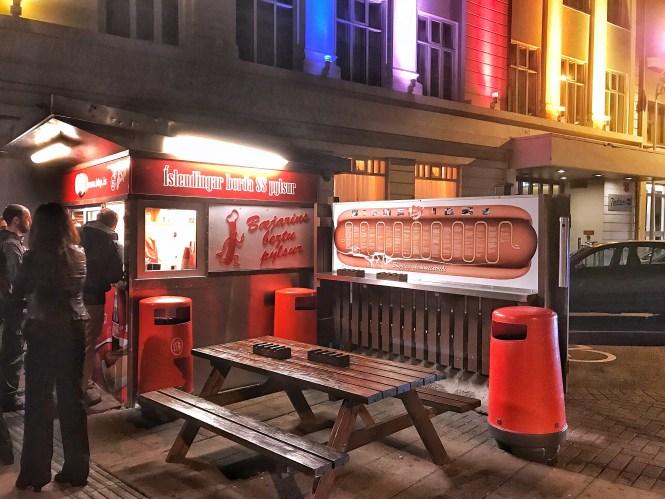 Bæjarins Beztu Pylsur Hot Dog Reykjavik Iceland