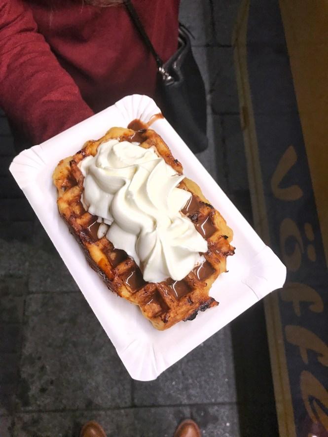 Voffluvagninn The Waffle Wagon Reykjavik Iceland Liege Waffle