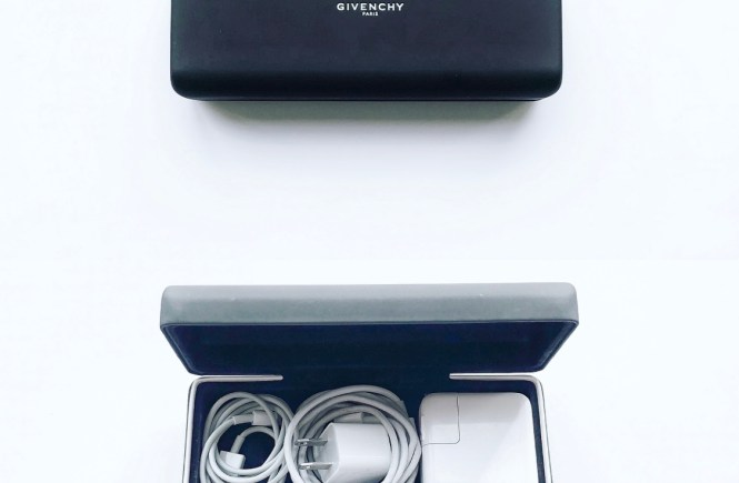 sunglass case charger cord organizer for travel