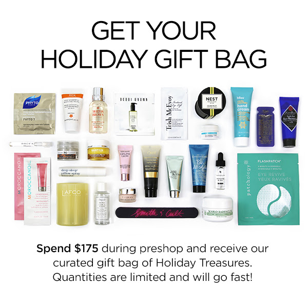 blue mercury holiday 2017 gift with purchase