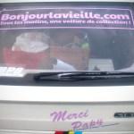"""309 SX stickée """"Bonjourlavieille"""""""