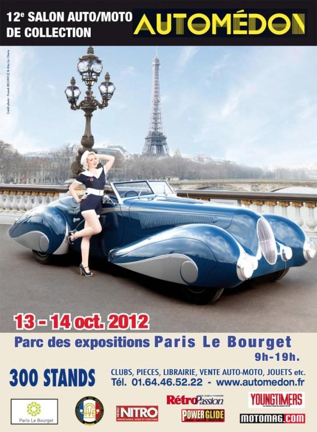 Affiche du salon Automédon 2012