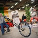 Lucien Z. teste son futur nouveau vélo ?