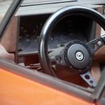 Intérieur de la Lancia Beta Monte Carlo