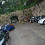 Une belle pluie battante sur le Fort de Cormeilles