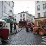 Défilé de tracteurs