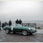 Jaguar Type E à Montmartre