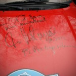 Capot signé Ari Vatanen