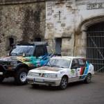 Peugeot 309 SX et 4X4 Toyota