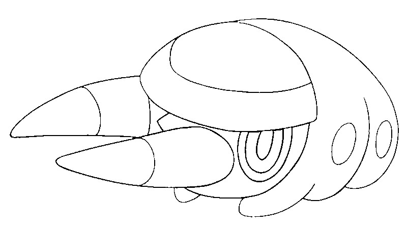 Rayquaza Coloring Pages #8
